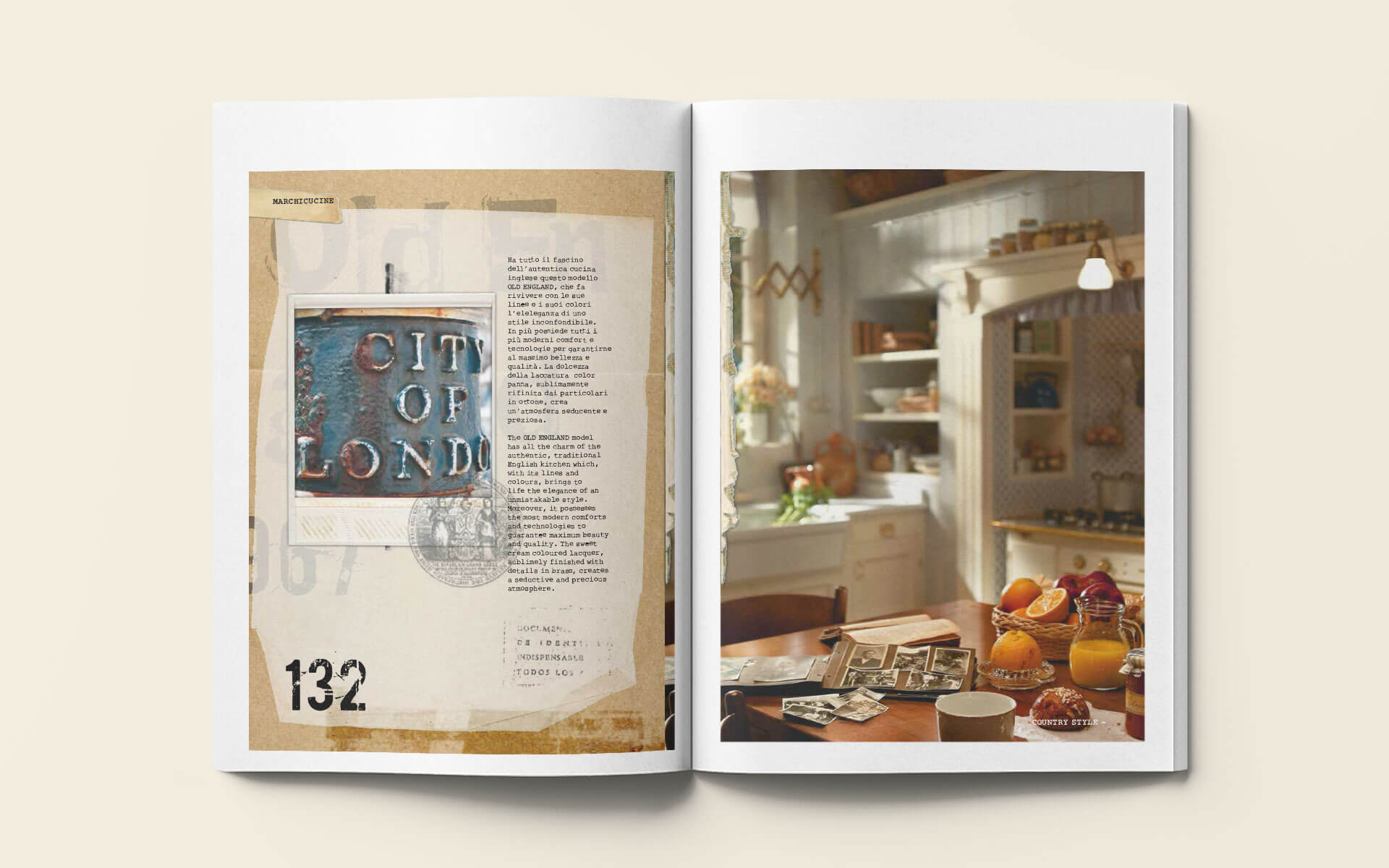 Catalogo Old England - Marchi Cucine Made in Italy